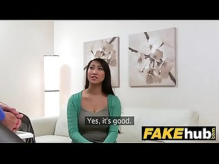 Dearsx com fake agent big boobs asian wants hard fuck on the casting couch