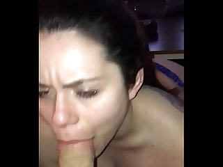 Pawg gets face fucked