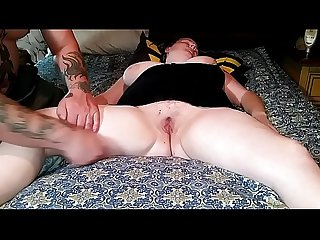 Sleeping wife exposed toyed fucked creampied part1