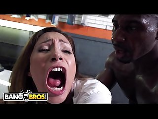 Bangbros young jade jantzen craves the mechanic S big black dick