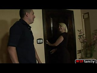 Blonde busty milf Raquel sieb who has an amazing ass fucked and takes her steps