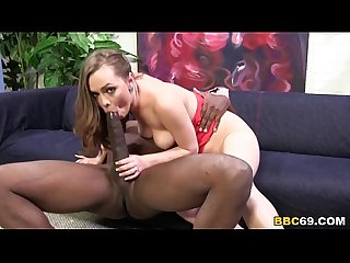 Monica Rise Tries Interracial Sex with Mandingo