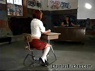 Electro BDSM for a Schoolgirl!