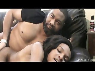 Young black chick is a good fuck ft mr plus 1 violet rose