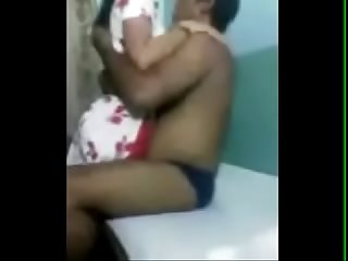 Amateur Indian uncle with his GF 1