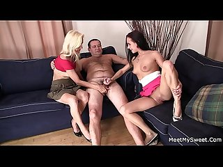 He finds couple threesome with his gf