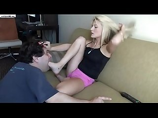 Extreme foot gag
