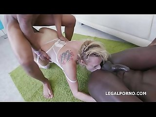 Barbarian Edition 6on1 Brittany Love total Ass destruction with Balls Deep Anal