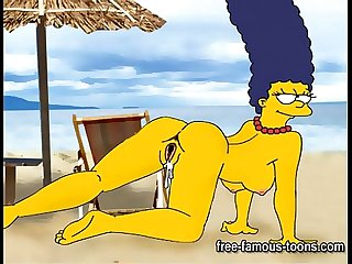Simpsons vs Futurama hentai parody