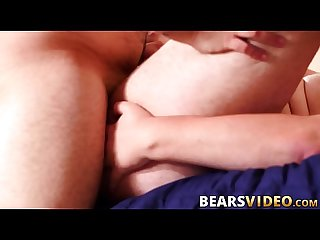 Sweet cubs bare fucking after a passionate oral session