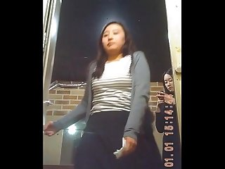 Spy cam on Korean restroom 40 87