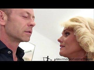 Damn hot blonde milf dyana gets pussy rammed filmed in pov