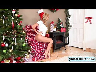 Horny babes Alexis Fawx and Sophia Leone get fucked by Santa's big cockig-1080-1