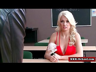 Big tit banged at school 27