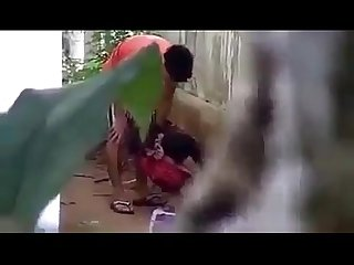 Myanmar spying young couple outdoor sex 53