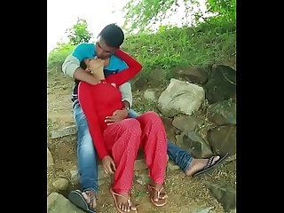 Desi couple sex in farm