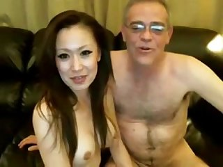 Asian old and young videos