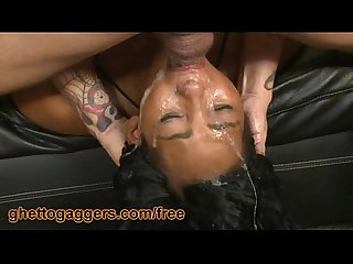 Kandee lixxx slobbers on a big dick