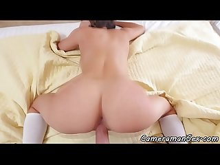 Lovely beauty pov fucked doggystyle
