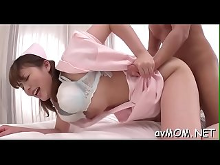 Milf partially shaved cunt hugs cock as that babe rides