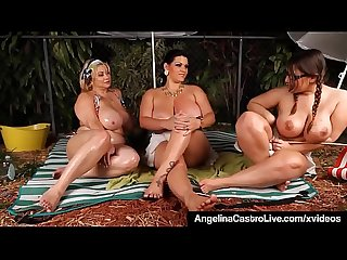 BBWs Angelina Castro Sam GG & Lexxxi Share Dirty Camp Tales!