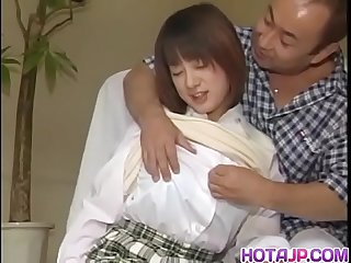 Mature Aizawa Satomi gets her hairy pussy drilled in different poses - More at hotajp com