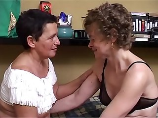 MOM and her new girlfriend, she is lesbian at 60!!!