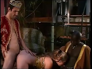 Belly dancer destroyed by her black master