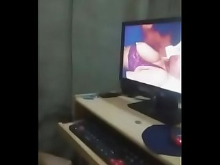 indian gf watching porn with boyfriend