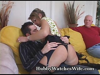 My mature wife fucks young stud