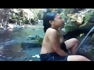 Xhamster com 7017689 asian babe bathing at the river