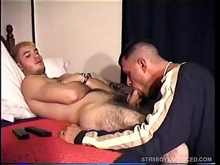 Vinnie Gives Straight Soldier Boy A Blowjob