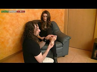 Interview to anna foot licking and trample boots