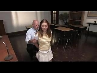 Schoolgirl uncomplaining is Abused and screwed