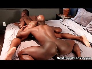 Black ass gets rimmed and rammed7