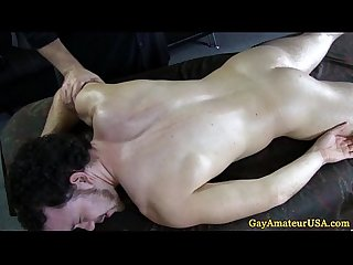 Straight guy trys some anal fingering