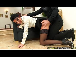 Euro milf face spunked