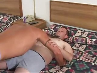 Amateur bears hardcore anal stretching session youd enjoy