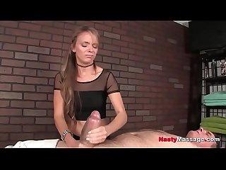 Femdom cock massage compilation