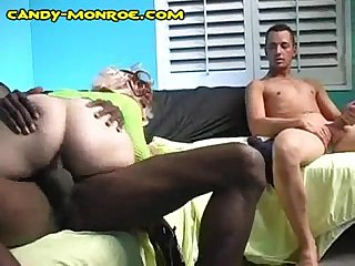 My girlfriend loves black cock