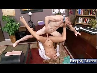 Horny Patient (natalia starr) Get Seduced And Hard Style Nailed By Doctor video-21