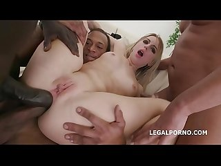 Blackened slut kira thorn 3 bwc 3 bbc equals double dap session equals barbaric excl