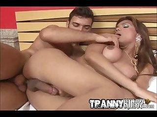 Sexy Tranny Isabella Rides a Big Dick