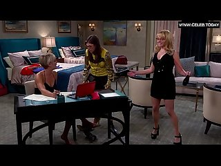 Kaley cuoco bikini big boobs cleavage sexy scenes the big Bang theory s08e05 2014