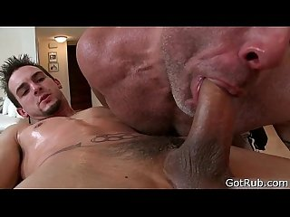 Dude gets his huge pierced dick massaged 5 by gotrub