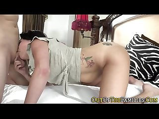 Milf plowed by stepson