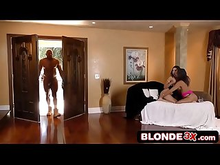 Abella danger melissa moore share a bbc in threesome