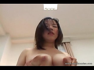 Big tit amateur riding cock