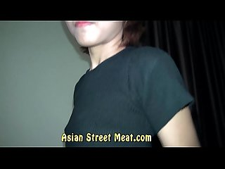 Gob smacked asian semen slapper