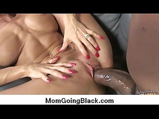 Watching my mom go black super hot interracial bang 18